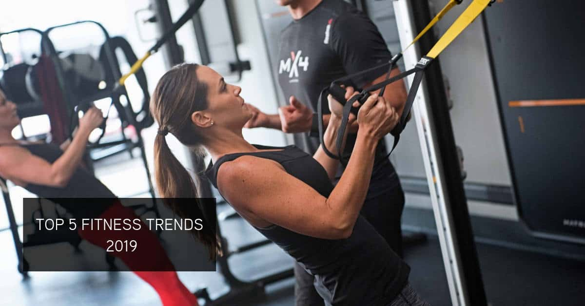 Fitness trends with equipment