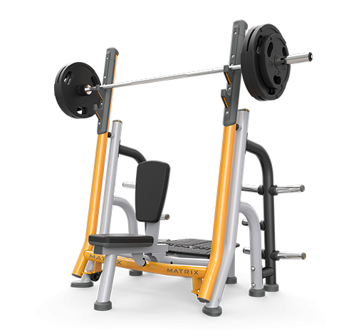 Matrix breaker olympic shoulder bench