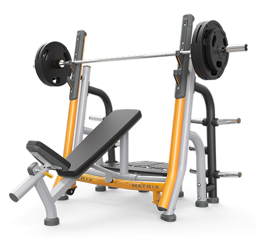 Matrix Breaker Olympic Incline Bench