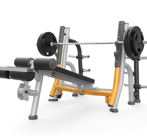 Matrix Decline bench