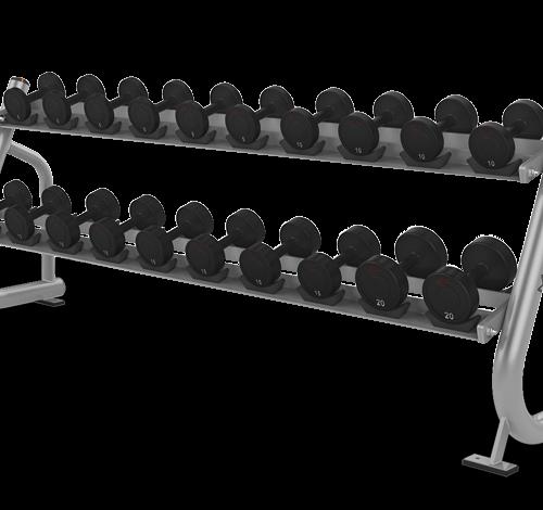 Matrix 2 tier Dumbbell rack