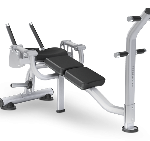 Matrix Ab Crunch Bench - Magnum Series
