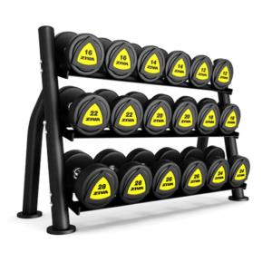 3 tier dumbbell rack